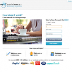 Earn Cash via Paypal at Global Test Market